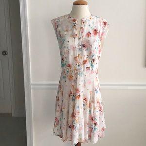 Rebecca Taylor EUC 6 Silk Floral Dress- Reg $395